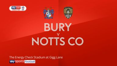 Bury 4-0 Notts County