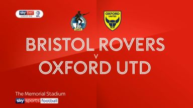 Bristol Rovers 0-0 Oxford