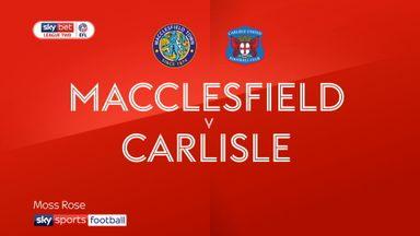 Macclesfield 2-1 Carlisle