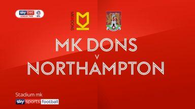 MK Dons 1-0 Northampton