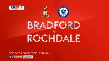 Bradford 0-2 Rochdale