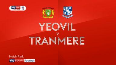 Yeovil 0-0 Tranmere