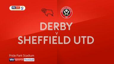 Derby 2-1 Sheff Utd