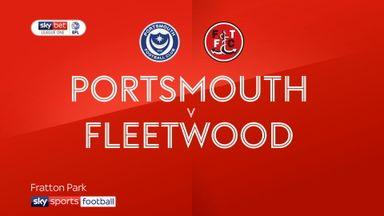 Portsmouth 1-0 Fleetwood