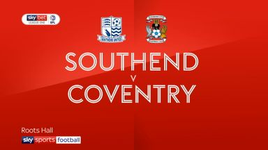 Southend 1-2 Coventry