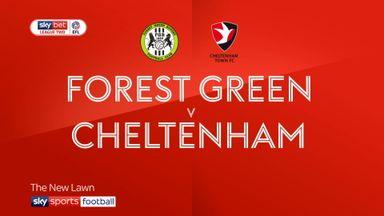 Forest Green 1-1 Cheltenham