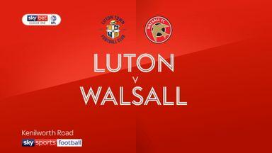 Luton 2-0 Walsall