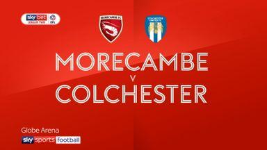 Morecambe 0-1 Colchester
