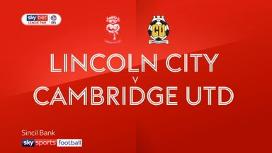 Lincoln 1-1 Cambridge