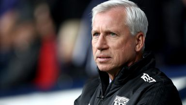 Pardew reflects on West Brom spell