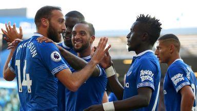 Everton 2-0 Crystal Palace