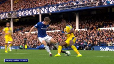 Palace's costly penalty miss