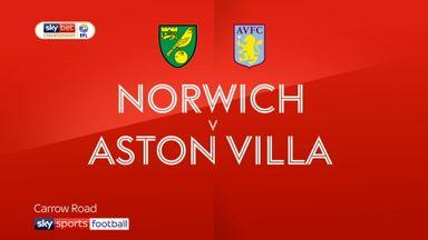 Norwich 2-1 Aston Villa