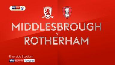 Middlesbrough 0-0 Rotherham