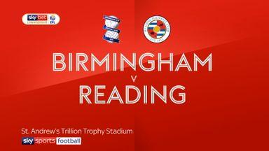 Birmingham 2-1 Reading