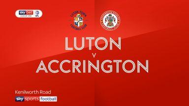 Luton 4-1 Accrington