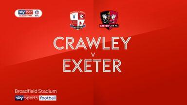 Crawley 1-1 Exeter