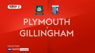 Plymouth 3-1 Gillingham