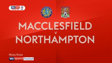 Macclesfield 0-5 Northampton