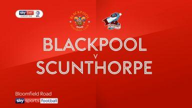 Blackpool 1-0 Scunthorpe