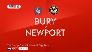 Bury 1-1 Newport