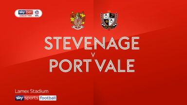 Stevenage 0-0 Port Vale