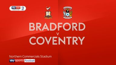 Bradford 2-4 Coventry