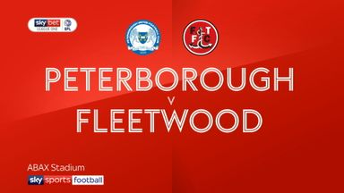 Peterborough 1-0 Fleetwood