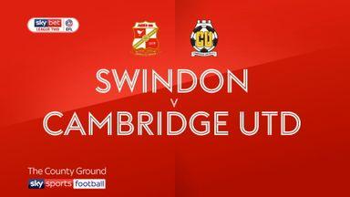 Swindon 0-2 Cambridge