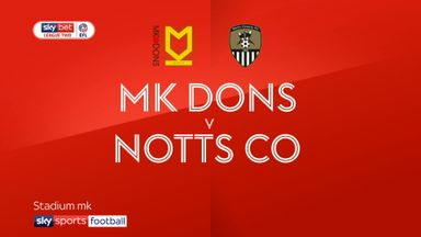 MK Dons 2-1 Notts County