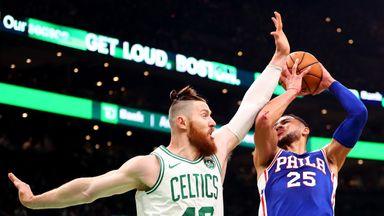 76ers 87-105 Celtics