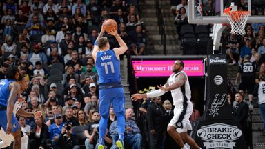 Doncic shines in overtime loss to Spurs