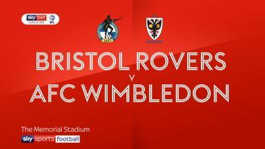 Bristol Rovers 2-0 AFC Wimbledon