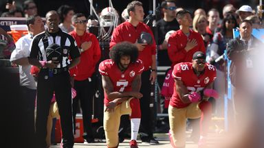 'Kaepernick settlement a surprise'