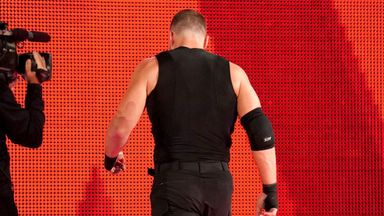 Ambrose walks out on Shield