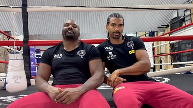 'Nobody would have dreamt of Hay, Chisora'