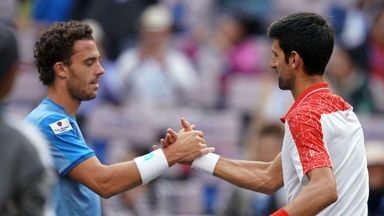 Djokovic v Cecchinato: Highlights