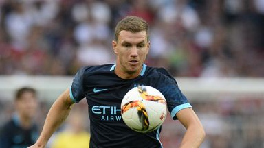 Dzeko: Premier League return unlikely