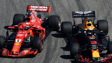 Vettel spins off in first lap chaos!