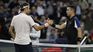 Federer v Bautista Agut: Highlights