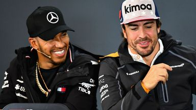 Alonso: Lewis one of the greatest