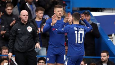 Barkley hopes Hazard will stay