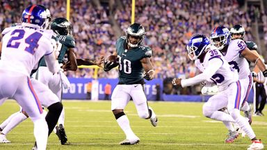 Eagles 34-13 Giants