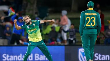 SA v Zimbabwe: 1st T20I highlights