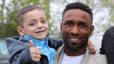 Defoe's Bradley Lowery tribute