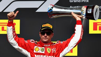 Kimi wins the US GP!