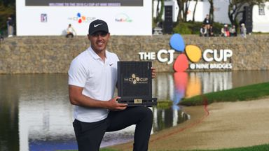 Koepka new world No 1 after CJ Cup win
