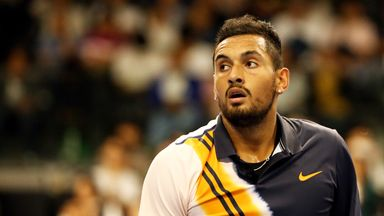 Kyrgios treated for spider bite