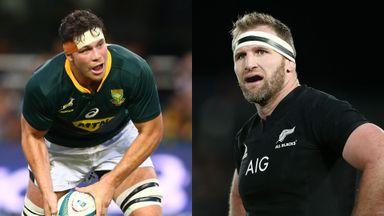 SA v NZ: Team news