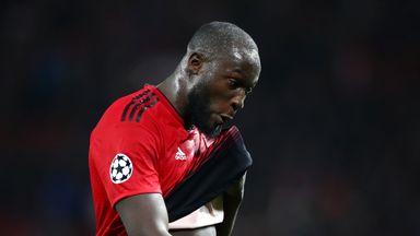 First-half struggles baffle Lukaku